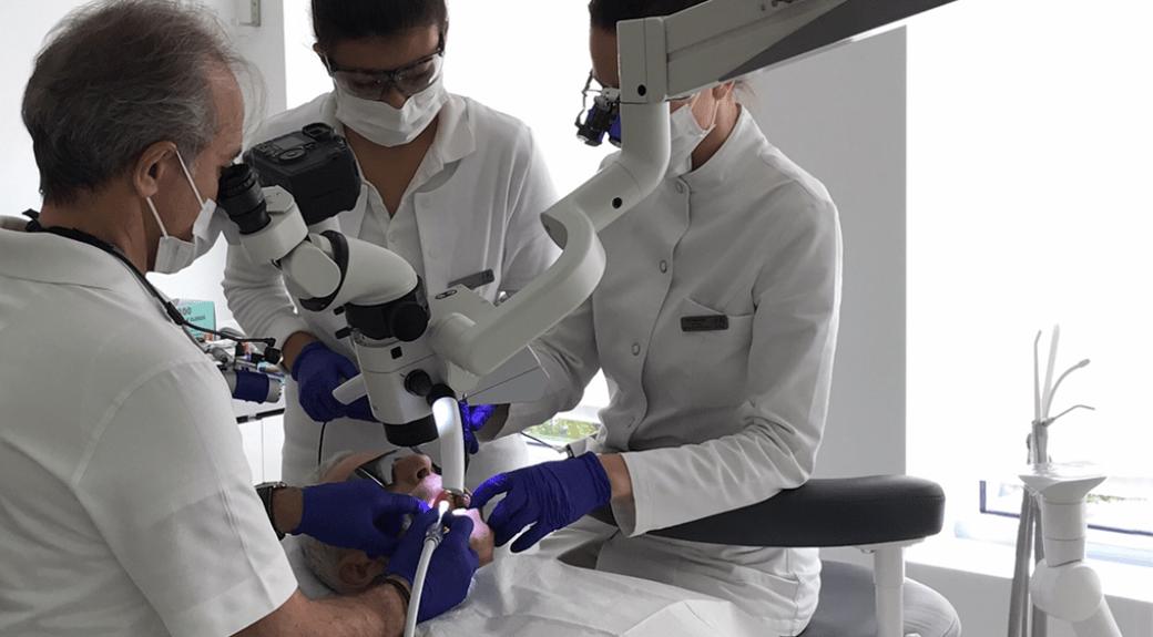 Microscopic enhanced dentistry